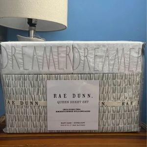 Rae Dunn sheets